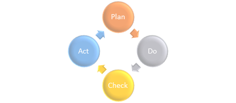 Plan, Do, Check, Act for Business Strategies and Management Systems
